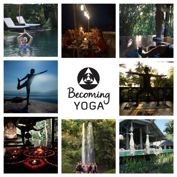Be Funky collage becoming yoga